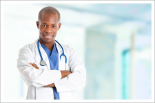 Medical professional person